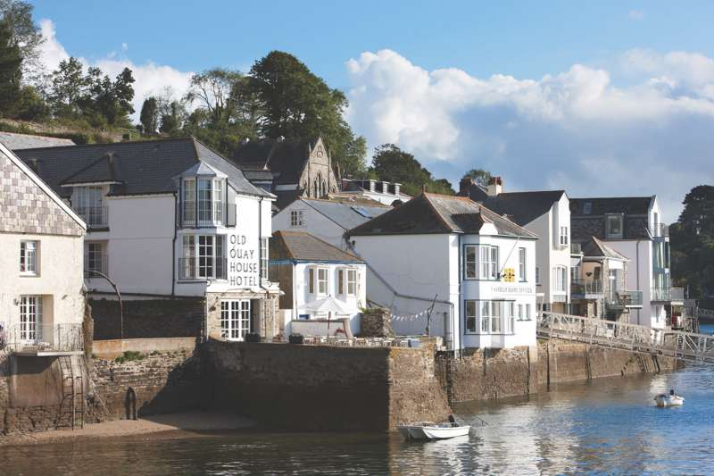 The Old Quay House 28 Fore Street Fowey Cornwall PL23 1AQ