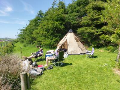 North Rhinns Camping Glengyre Cottage, near Leswalt, Stranraer, Wigtownshire, Dumfries and Galloway DG9 0RG