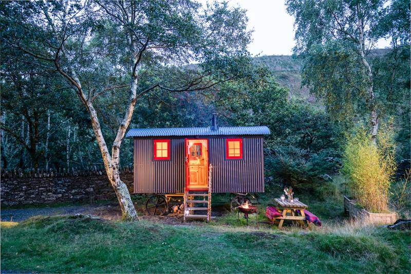 Graig Wen Jones the Shepherd's Hut