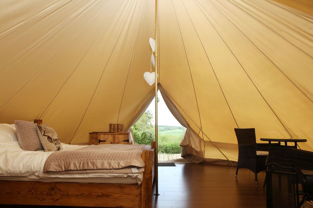 Glamping in the West Country