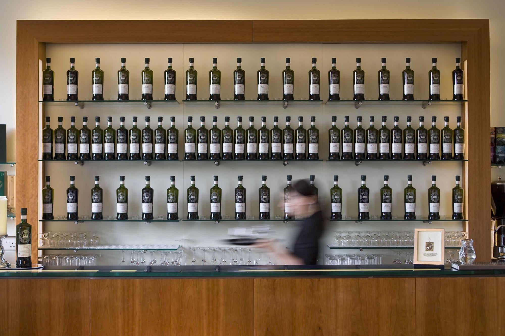 Dining Room at the Scotch Malt Whisky Society