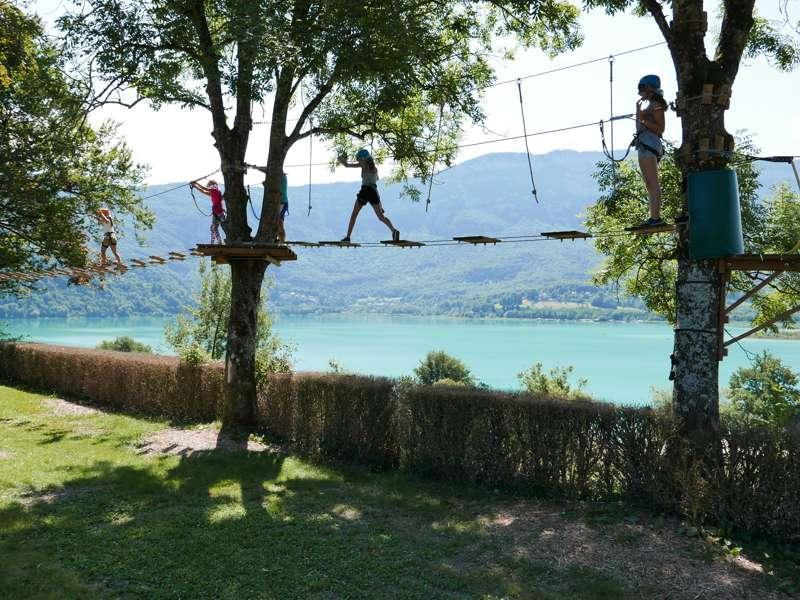 Camping le Sougey Lac Rive Ouest,  73610 St Alban De Montbel, Savoie, France
