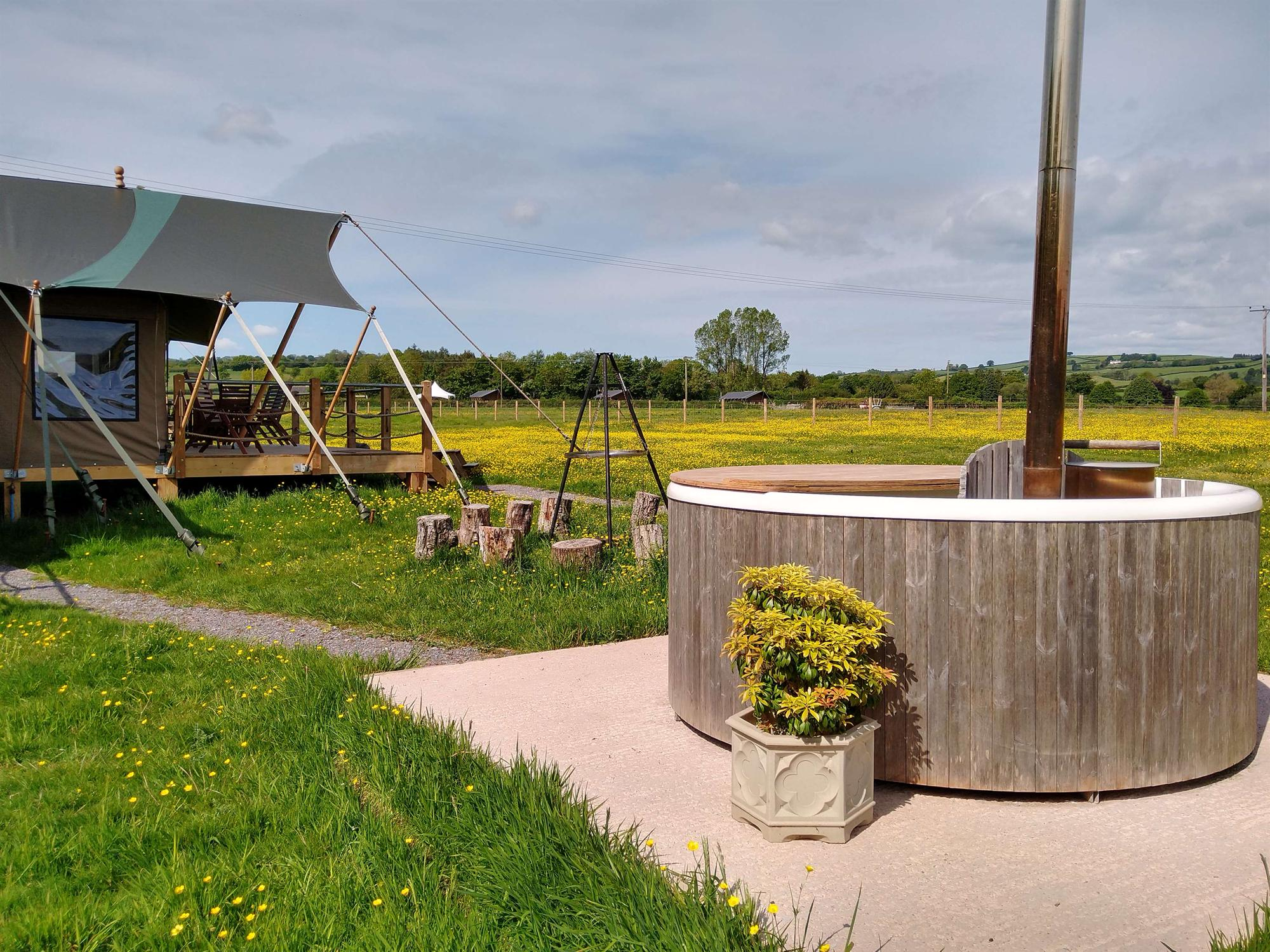 Glamping in Taunton holidays at Cool Places