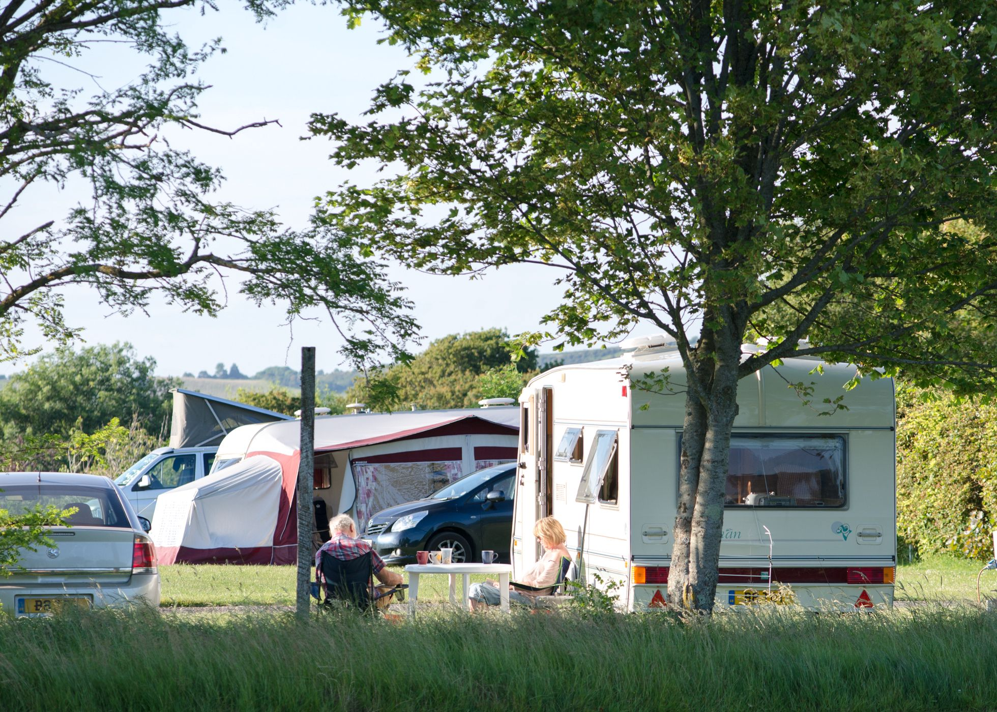 Campsites in Shanklin holidays at Cool Camping