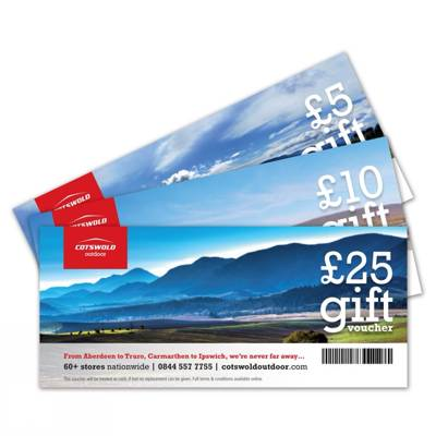 £100 Cotswold Outdoor Voucher to be won