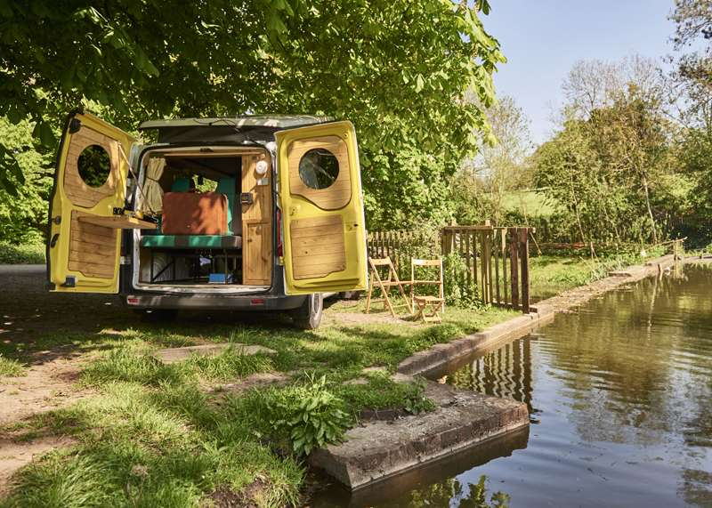 Serenity, Bristol, from Quirky Campers