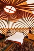 Pip Pin Yurt located in a separate field