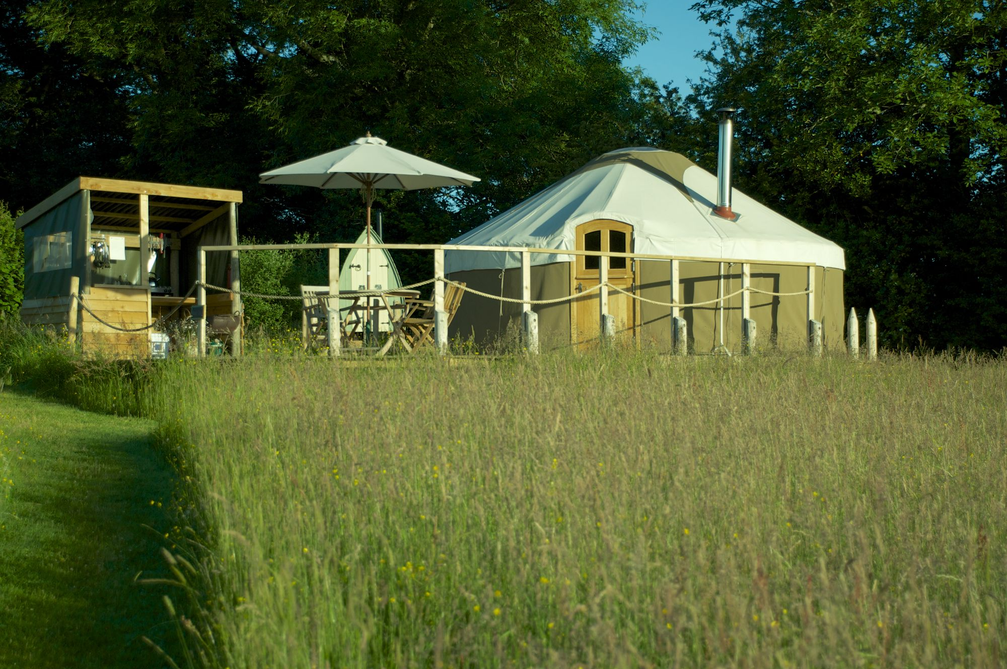 High Meadow Yurts