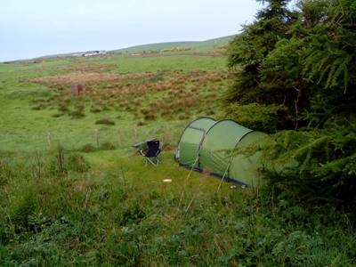 Small tent pitch (no EHU)