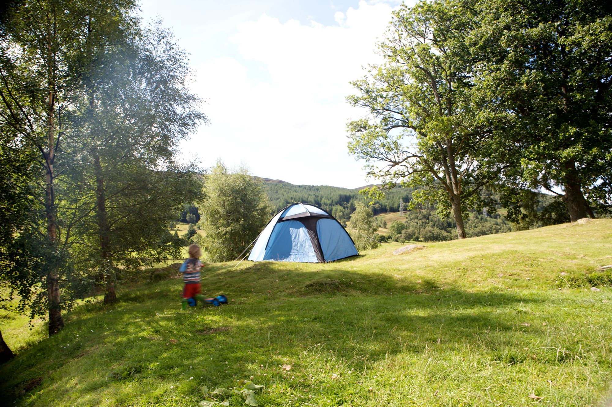 Campsites in Perthshire holidays at Cool Camping