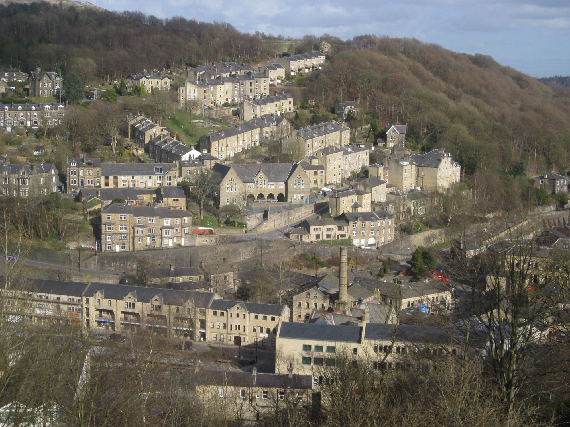 Hotels, B&Bs & Self-Catering in Hebden Bridge