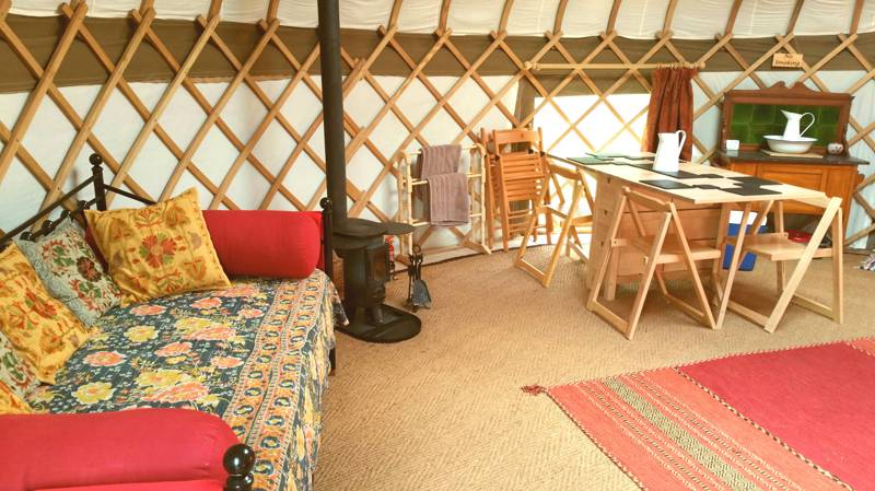 Stargazer - Extra Large Luxury Yurt