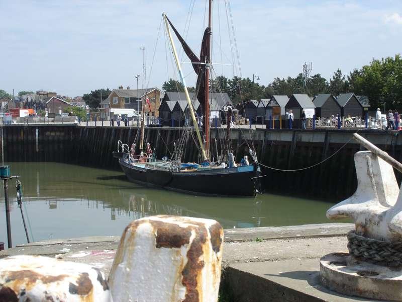 Sailing on the Greta