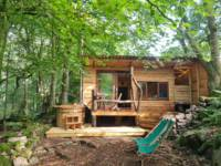 Hideaway Hut with private hottub