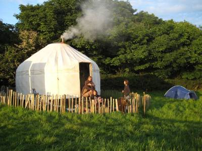 Yurts in Cornwall - The best yurt holidays in Cornwall
