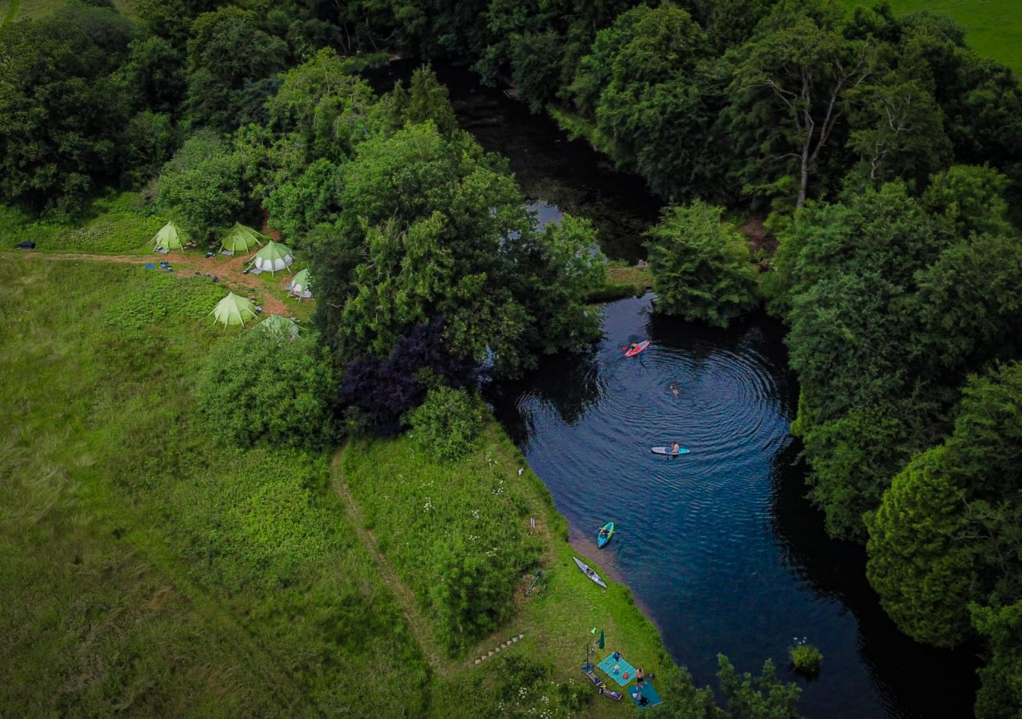 Glamping in Shepton Mallet – Cool Camping
