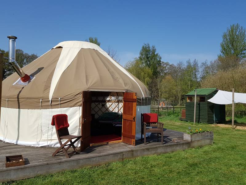Maple Yurt