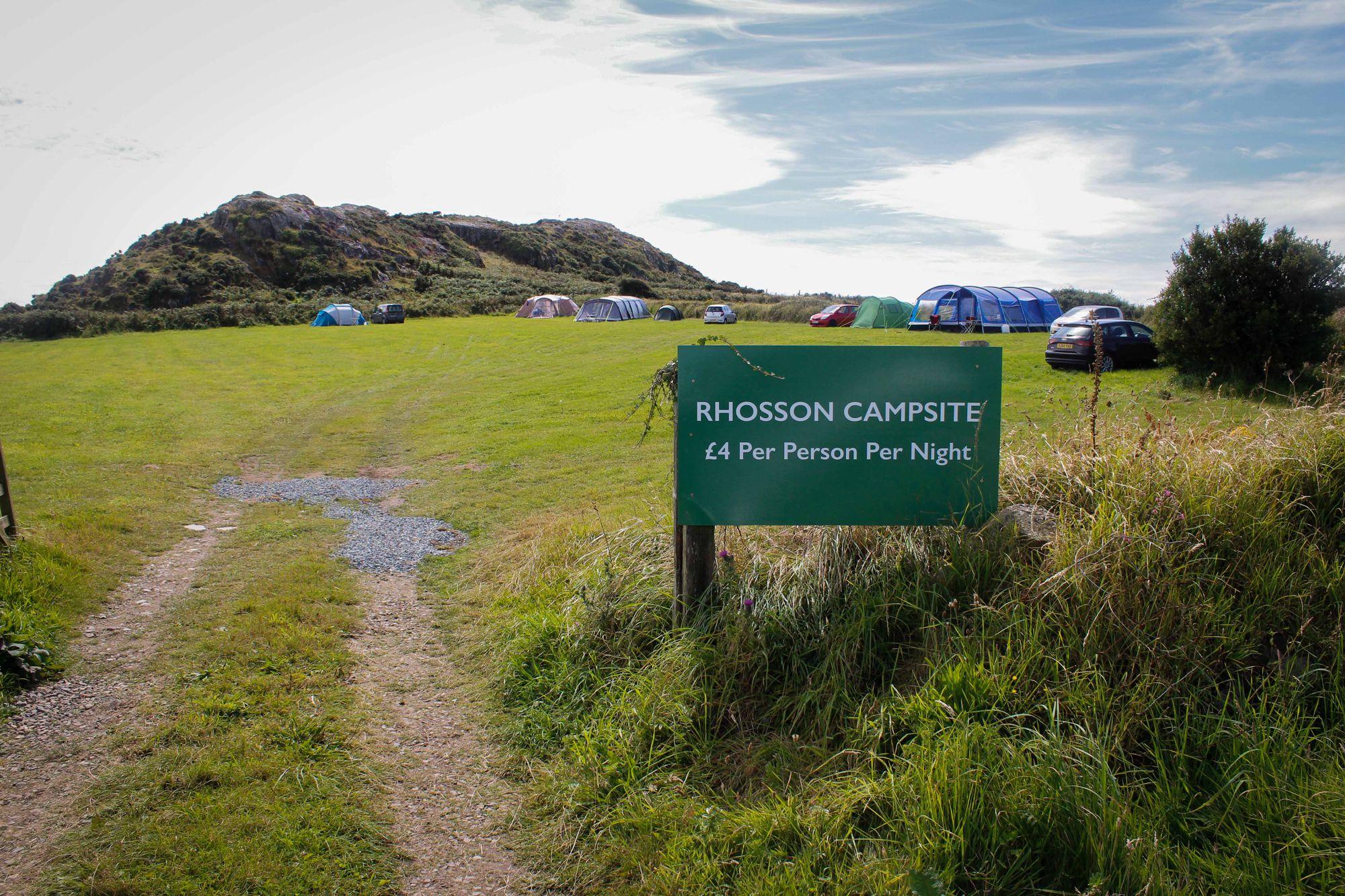 Rhosson Campsite