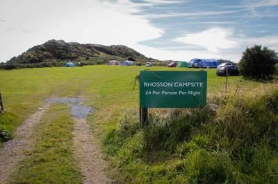 Rhosson Campsite Rhosson Campsite, St Davids, Pembrokeshire, SA62 6PY