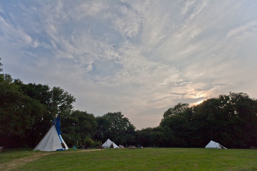 Glamping in Carmarthenshire