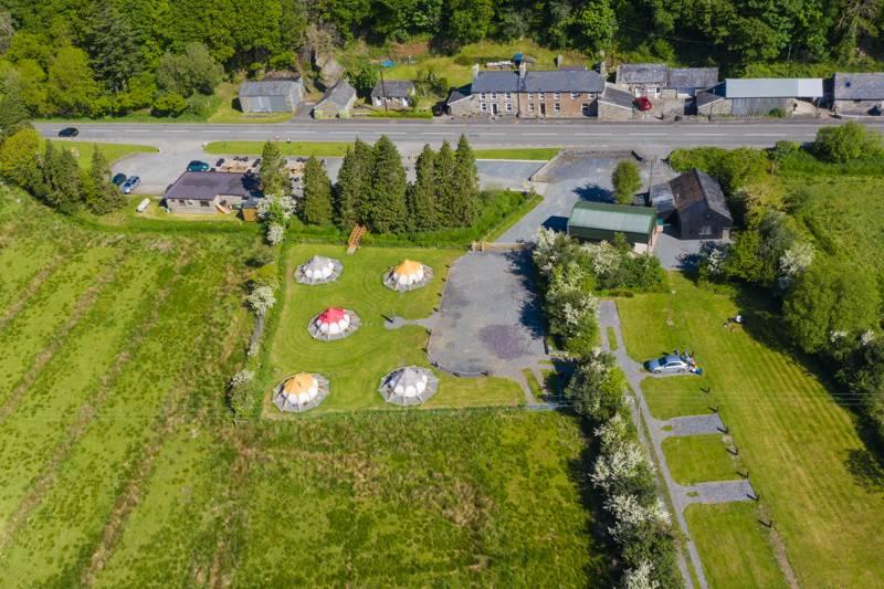 Hadfer Campsite Hadfer Campsite at Eric Jones Cafe, Bwlch Y Moch, Tremadog, Gwynedd LL54 9SL