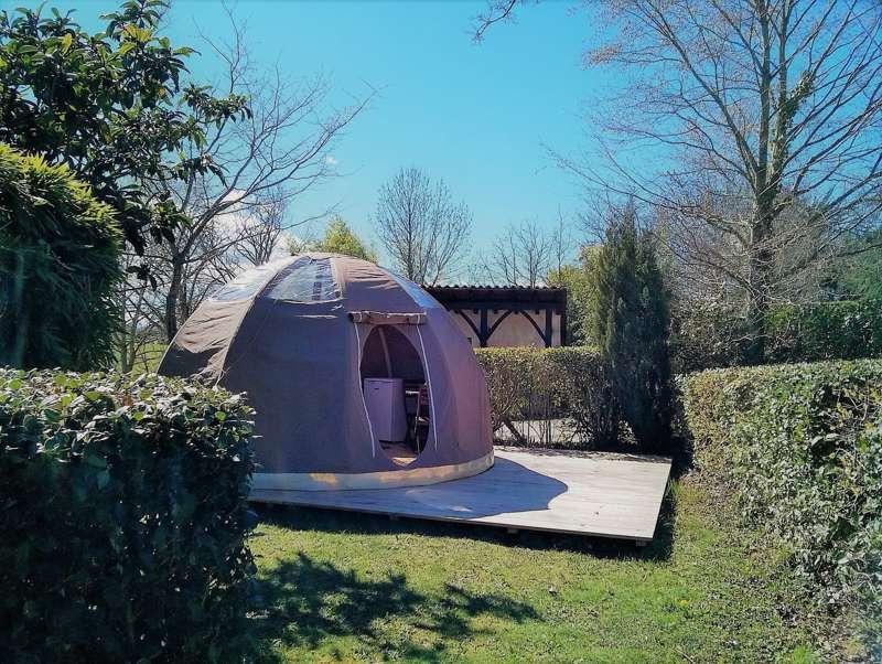 Wig-wam yurt