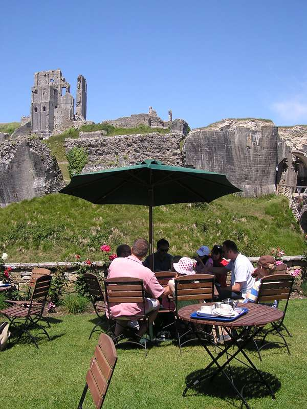 National Trust Tearooms at Corfe Castle