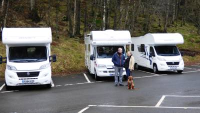 MH 1- Hard Standing Motorhome Pitch