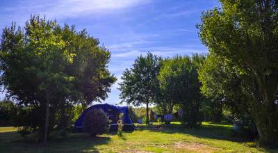 Camping heaven for kids, just 50 metres from the beautiful south Finistère coast.