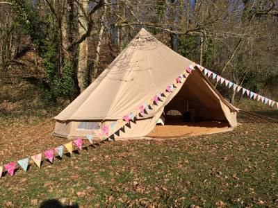 Exclusive Hire of all 6 Belle Tents