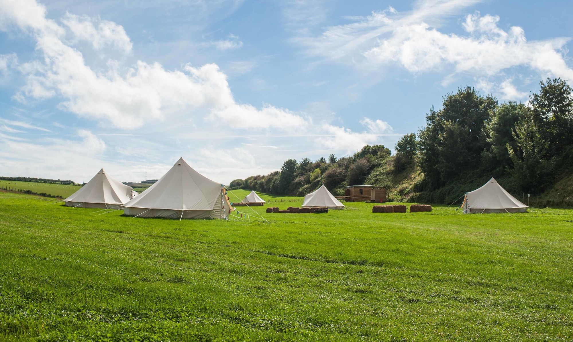 Bell Tent Glamping | Best Bell Tent Glamping Holidays