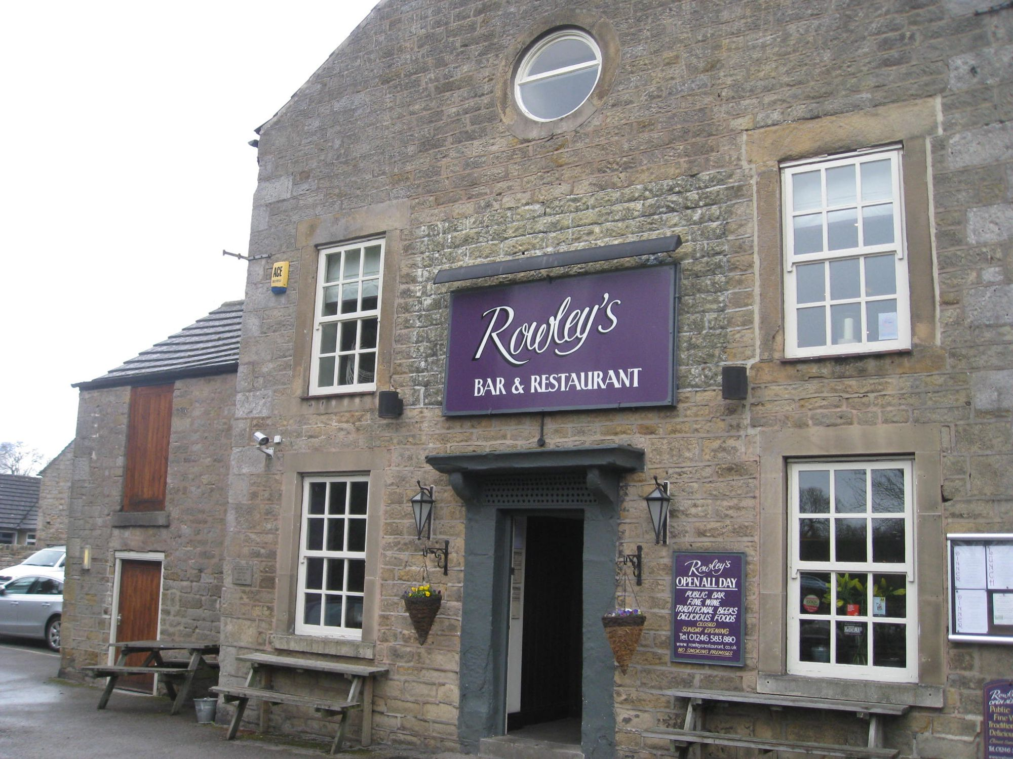 Rowleys, Baslow, Derbyshire