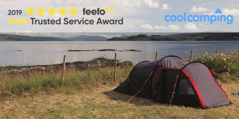Cool Camping Receives Feefo Gold Trusted Service Award 2019
