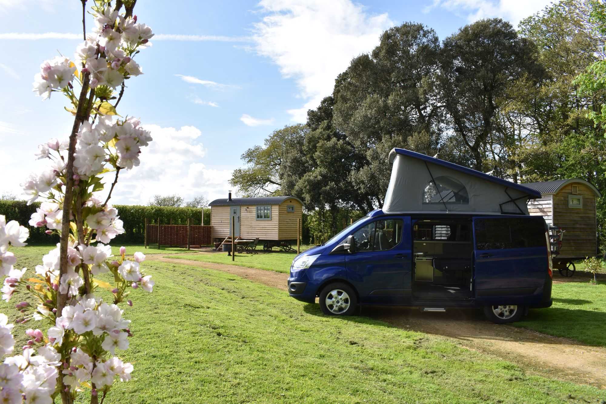 Campervans in Somerset holidays at Cool Camping