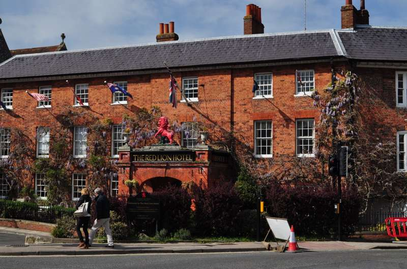 The Red Lion Hotel Henley-on-Thames Oxfordshire RG9 2AR.
