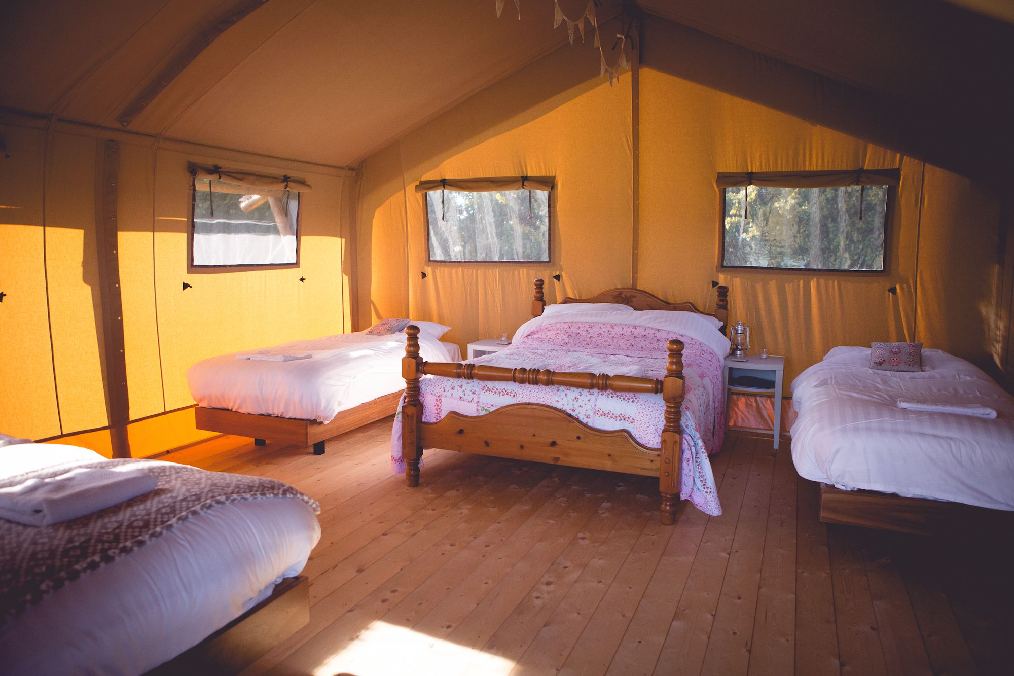 Glamping in Worcester – Cool Camping