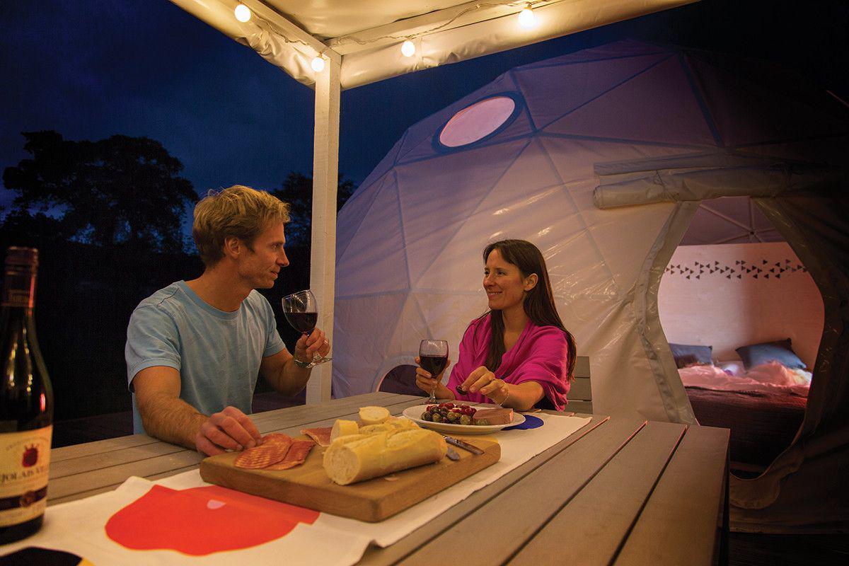 Glisten Camping