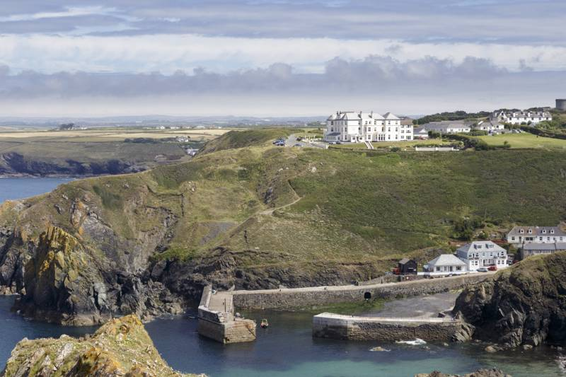 Mullion Cove Hotel & Spa Mullion Cove, Lizard Peninsula, Cornwall TR12 7EP