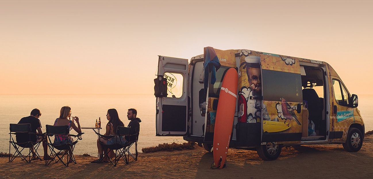 UK Campervan Hire - the best Campervan, RV or Motorhome for your campervan holiday. Campervan hire in the UK and France, Spain, Italy.
