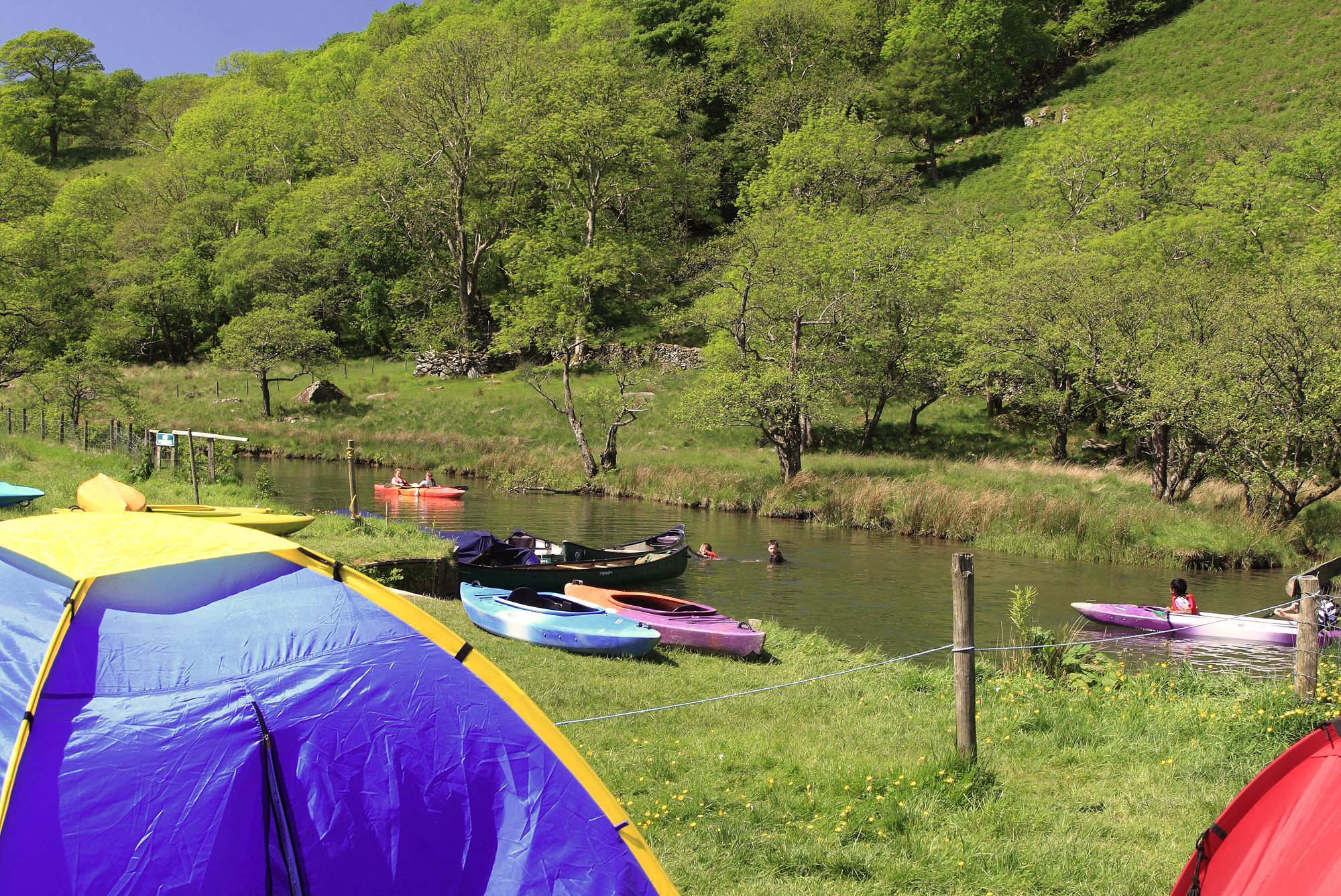 The best campsites in South Wales the