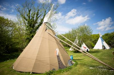 Large Tipi 1 - Village Field