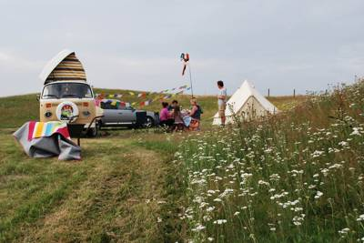 A 28 day pop-up campsite that offers authentic rural camping in the heart of the Dorset countryside.