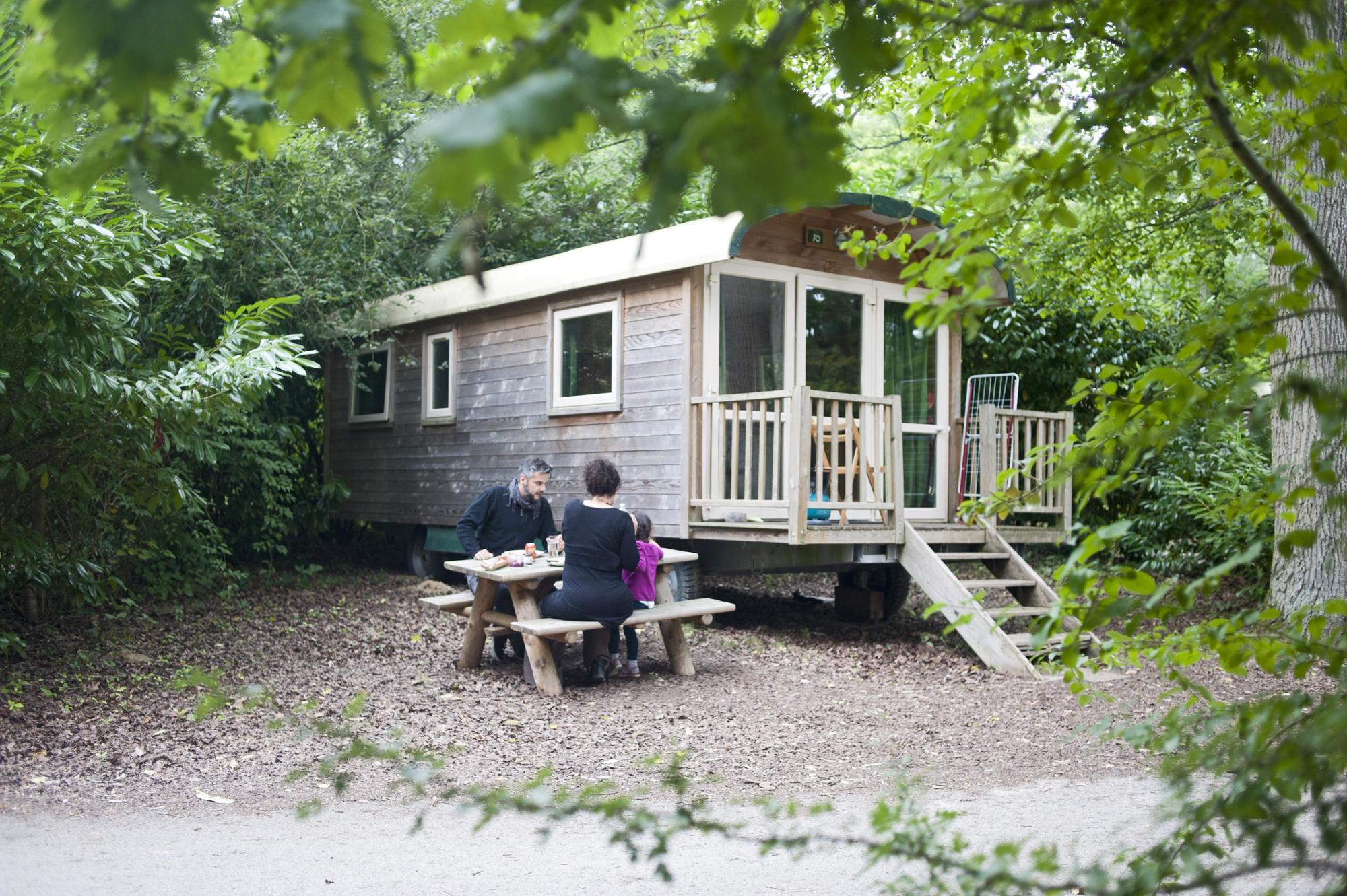 Glamping in North East France | Yurts, Safari Tents, Treehouses and more