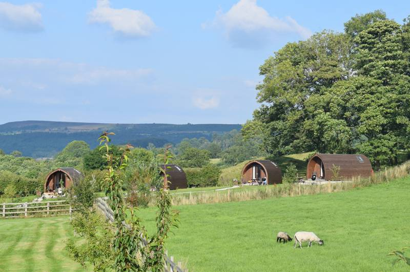 Peak Pods Broadmeadow Farm, Alport, Bakewell, Derbyshire DE45 1LH