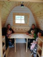 Pickwick glamping cabin