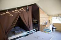 Sweet Wood and Canvas Tent