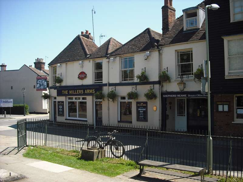 Millers Arms 2 Mill Lane Canterbury CT1 2AW