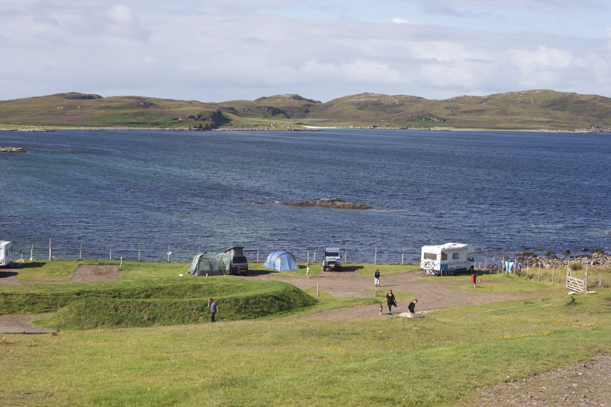 Campsites in Ross-shire