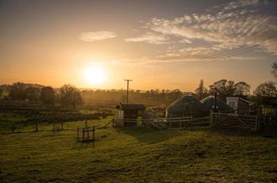 Fordhall Farm Yurts Tern Hill Road, Market Drayton, Shropshire, TF9 3PS