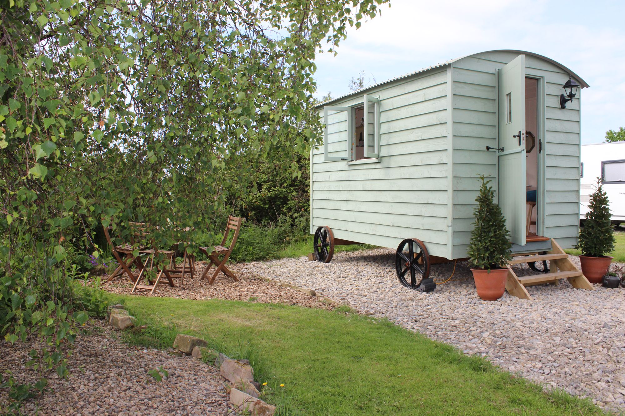Glamping in Staithes holidays at Glampingly